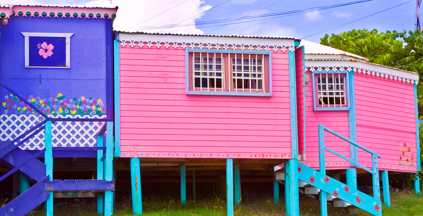 Leeward Islands cottages