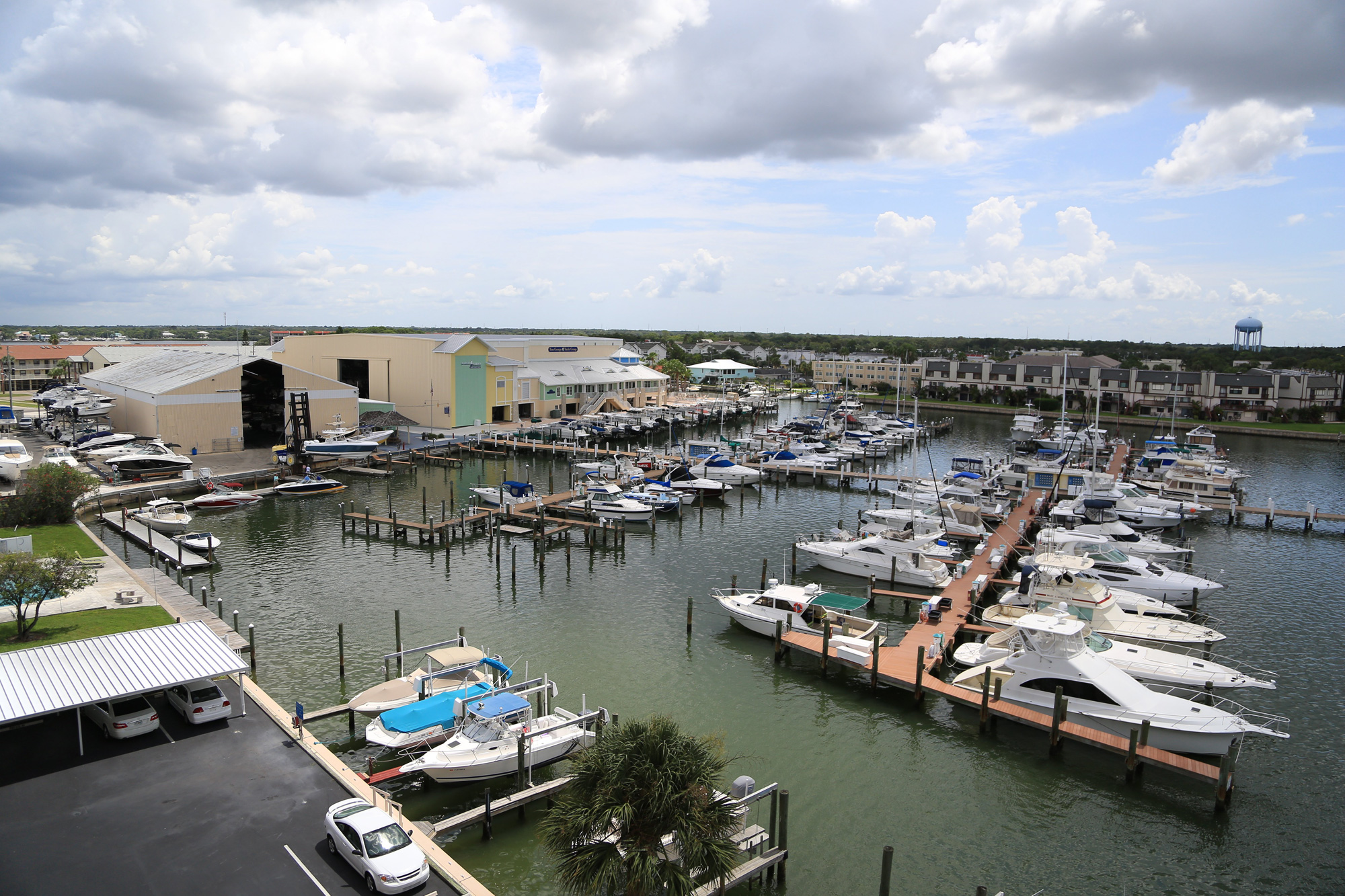 Tom George Marina overview