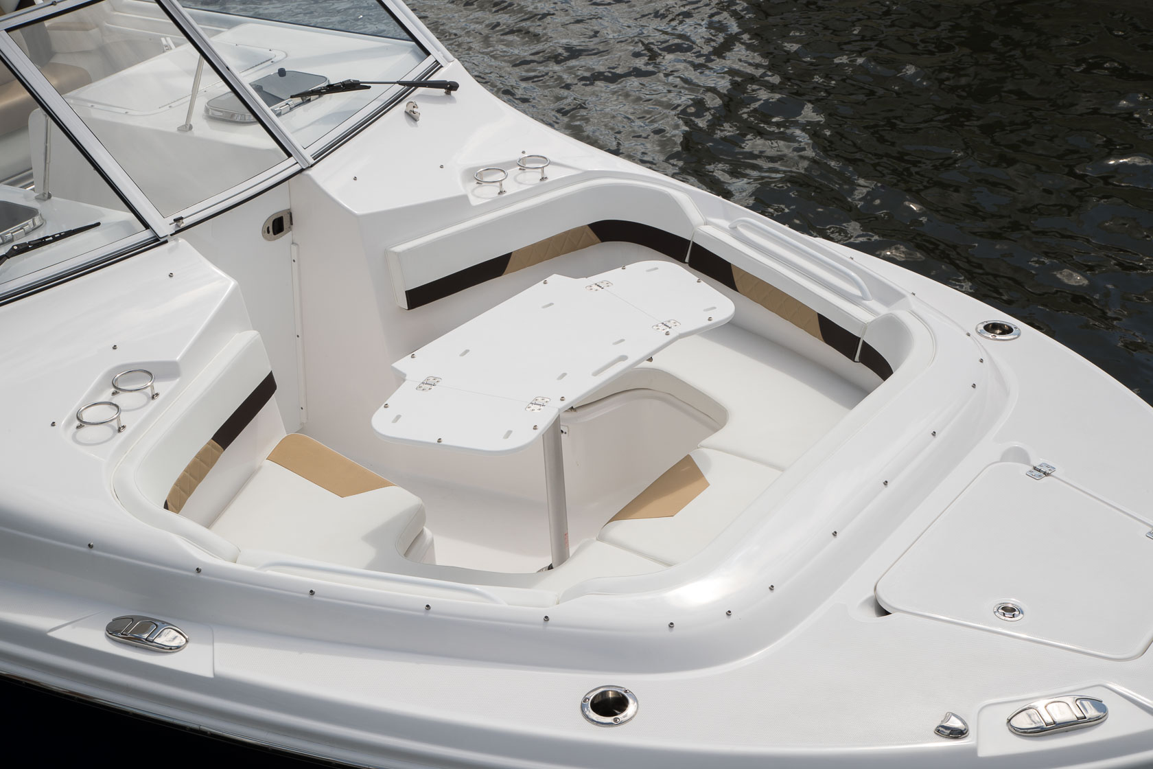 Image 1546: dual console boats bow seating