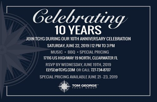 TGYG 10 Year Anniversary Sales Event