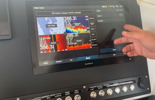 How to Adjust Your Screen Configuration on the Garmin 8600 Series