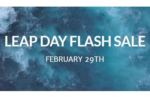 Leap Day Flash Sale