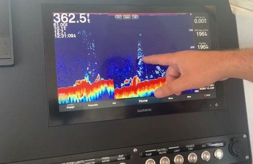 How to Use the Sonar and Adjust Frequencies on the Garmin 8600 Series