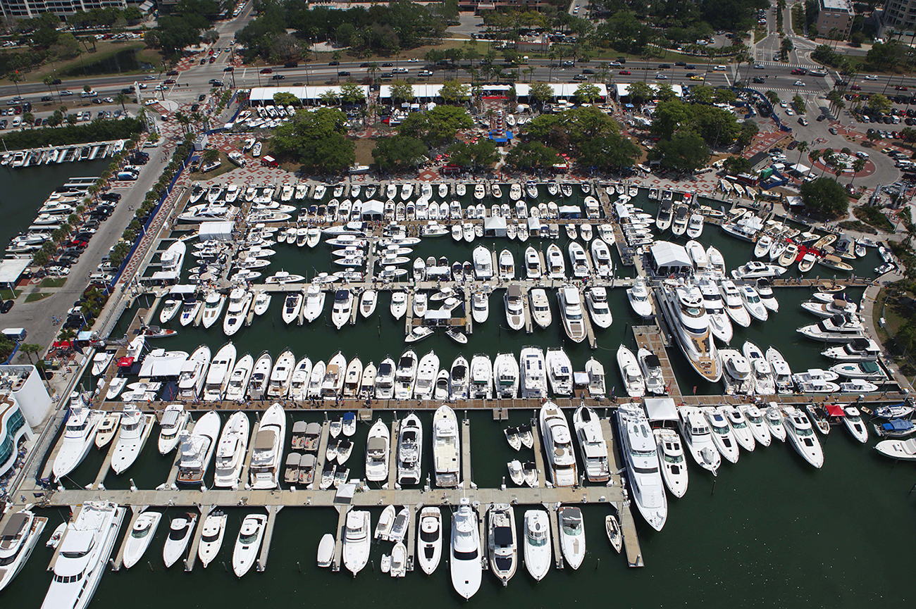 Image 1553: suncoast-boat-show-aerial-view-20171
